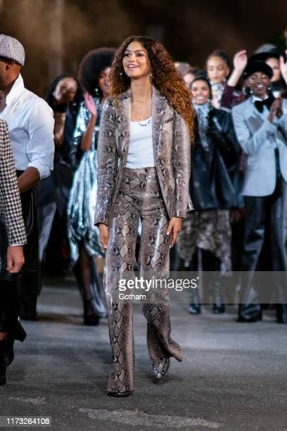 Zendaya attends the TOMMYNOW New York Fall 2019 fashion show at The Apollo Theater on September 08 2019 in New York City