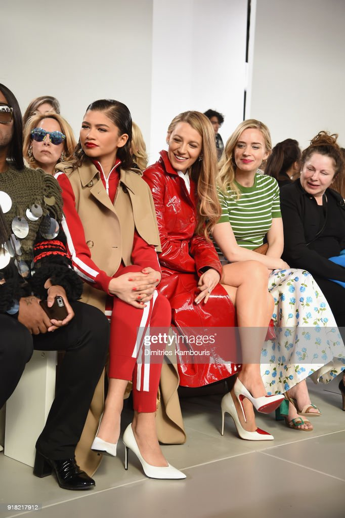 Michael Kors Collection Fall 2018 Runway Show - Front Row : News Photo