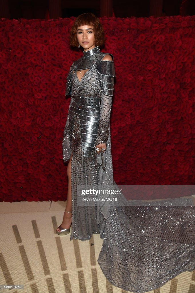 Zendaya Coleman attends the Heavenly Bodies: Fashion & The Catholic Imagination Costume Institute Gala at The Metropolitan Museum of Art on May 7, 2018 in New York City.