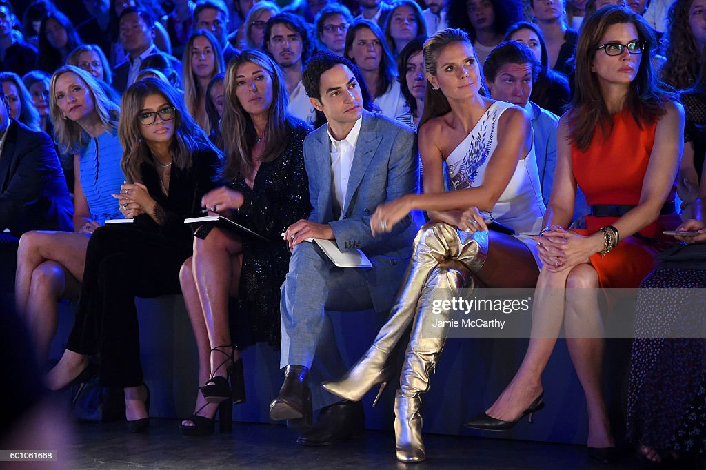 Project Runway - Front Row & Backstage - September 2016 New York Fashion Week: The Shows : News Photo