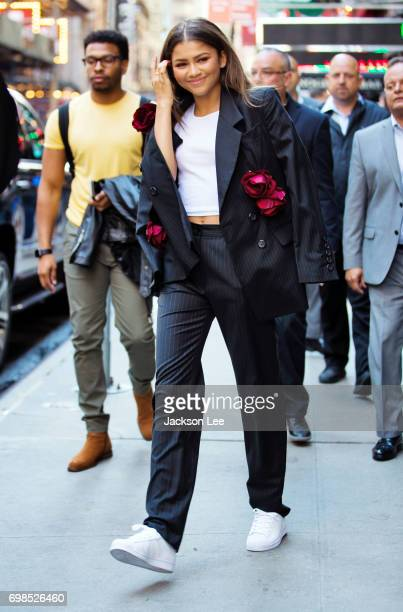 Zendaya departs GMA on June 20 2017 in New York City