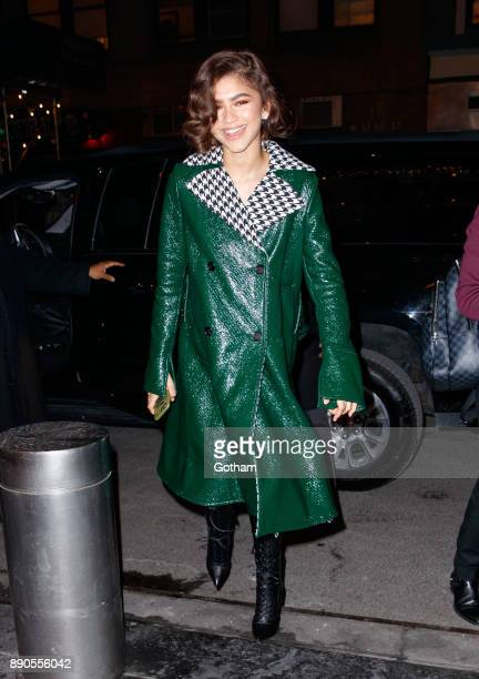 Zendaya heads back to her hotel on December 11 2017 in New York City
