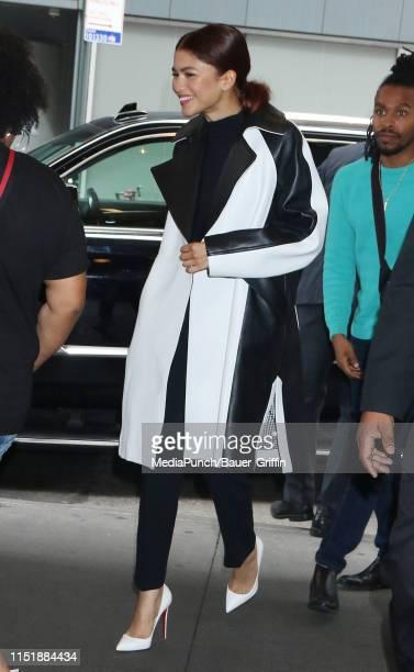 Zendaya is seen on June 25, 2019 in New York City.