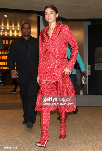Zendaya is seen on June 25 2019 in New York City