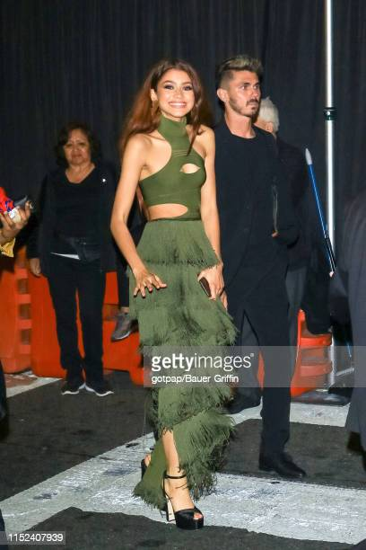 Zendaya is seen on June 26 2019 in Los Angeles California