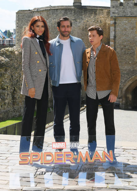 "GBR: ""Spider-Man: Far From Home"" Photocall At The Tower Of London"