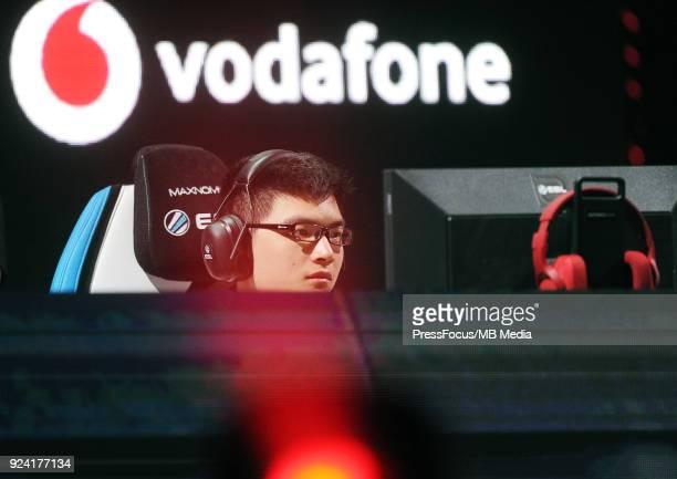 Zeng Ori Jiaoyang during Dota 2 Major Final match between Vici Gaming and Virtuspro on February 25 2018 in Katowice Poland