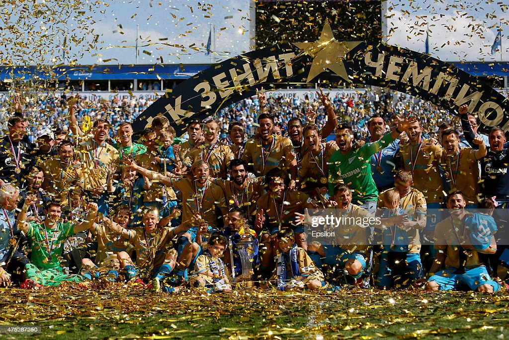 FC Zenit St Petersburg v FC Lokomotiv Moscow - Russian Premier League : News Photo