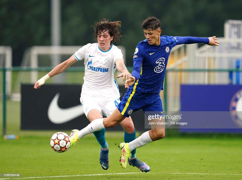 Chelsea v Zenit St Petersburg - UEFA Youth League - Group H - Cobham Training Ground : News Photo