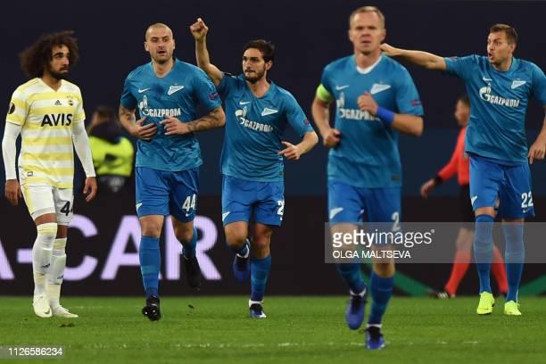 RUS: Zenit Saint Petersburg v Fenerbahce - UEFA Europa League Round of 32: Second Leg