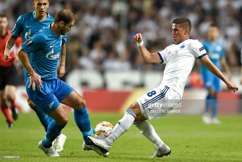 FC Copenhagen v Zenit Saint Petersburg - UEFA Europa League - Group C