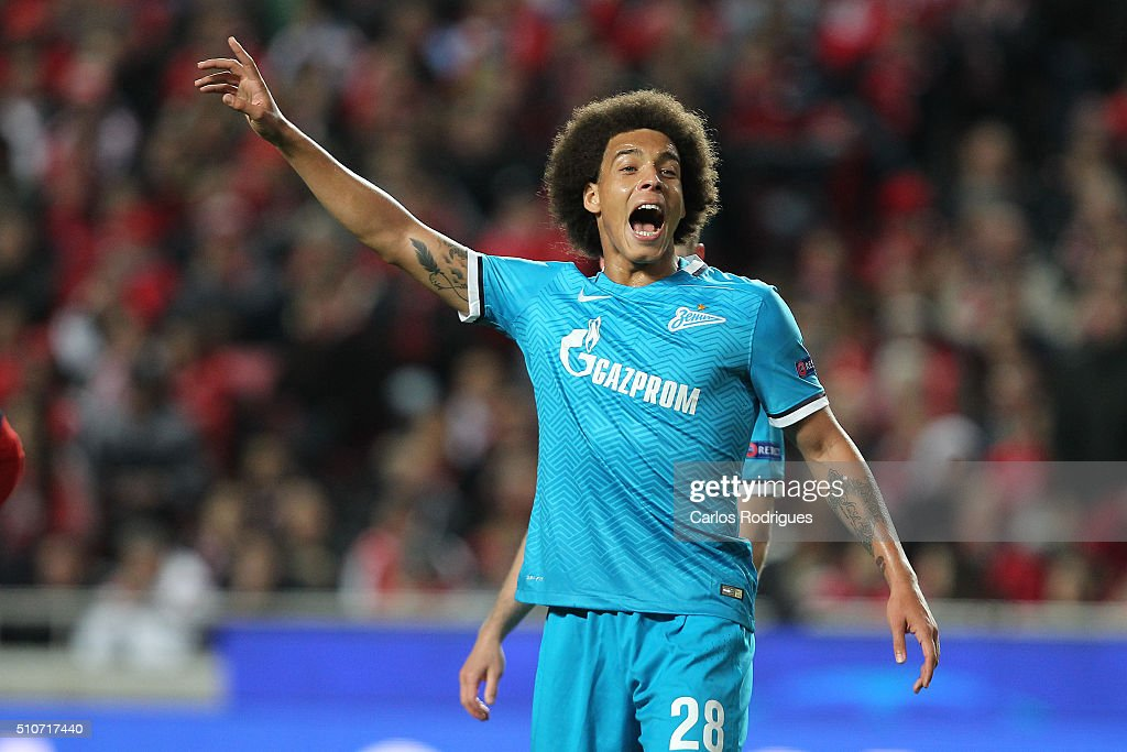 SL Benfica v FC Zenit - UEFA Champions League Round of 16: First Leg : News Photo