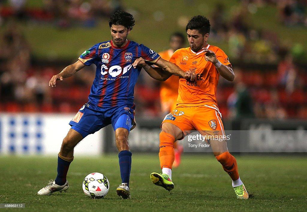 A-League Rd 6 - Newcastle v Brisbane : News Photo