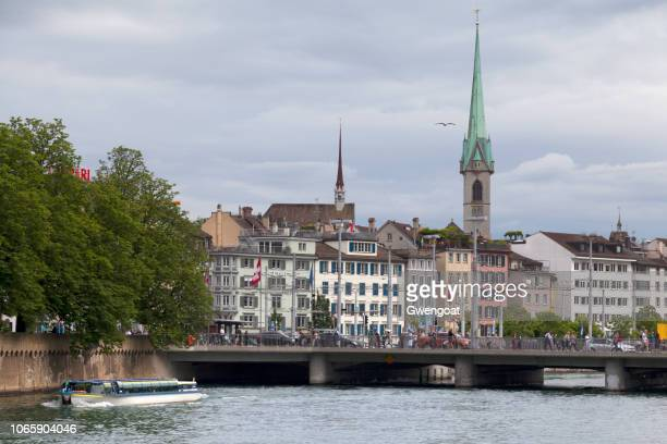 zentralbibliothek zürich - rio limmat - fotografias e filmes do acervo