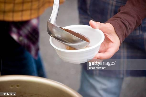 Zenzai (Red Bean Soup)