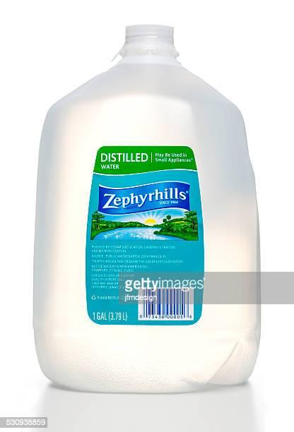 Zephyrhills distilled water bottle