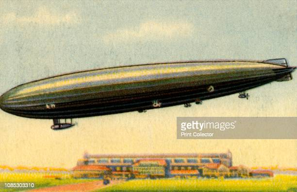 Zeppelin L 71 German airship L 71 was ordered to be transferred to Great Britain in 1920 as reparations after the First World War From Die Eroberung...