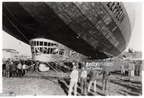 Passengers dining room, Zeppelin LZ 127 Graf Zeppelin