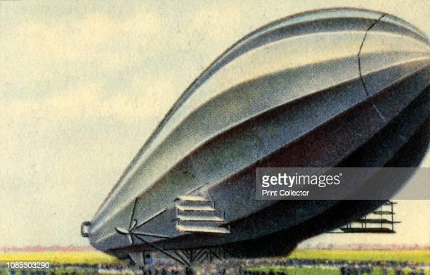 Zeppelin LZ 4 German experimental airship constructed under the direction of Ferdinand von Zeppelin first flown on 20 June 1908 LZ 4 was destroyed...
