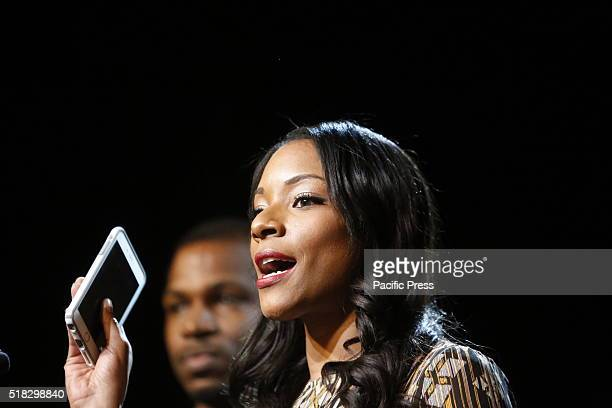 Zerlina Maxwell Clinton campaign's director of digital outreach speaks Democratic primary front runner Hillary Clinton appeared before hundreds of...