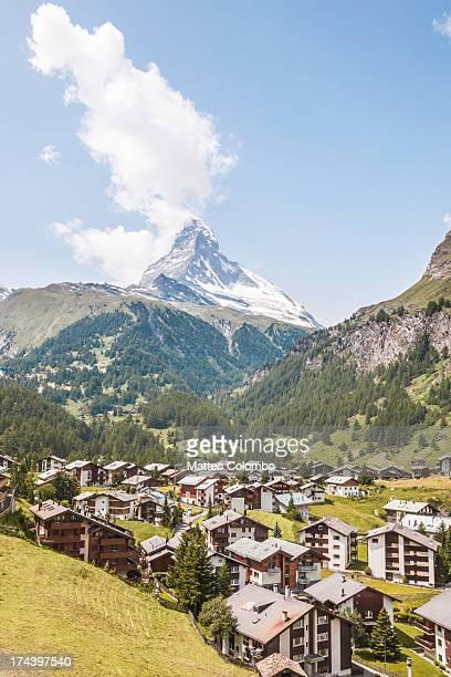 Zermatt and Matterhorn mountain, Switzerland