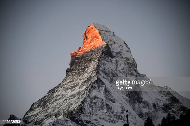 zermatt mountain - swaziland stock pictures, royalty-free photos & images