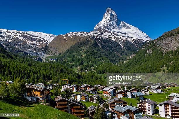 Zermatt & the Matterhorn (4478m)