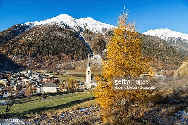Zernez village Switzerland