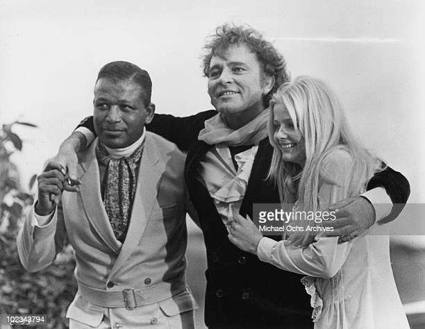 Zero a fellow actor and Candy Christian in a scene from the movie Good Grief It's Candy which was released on December 17 1968