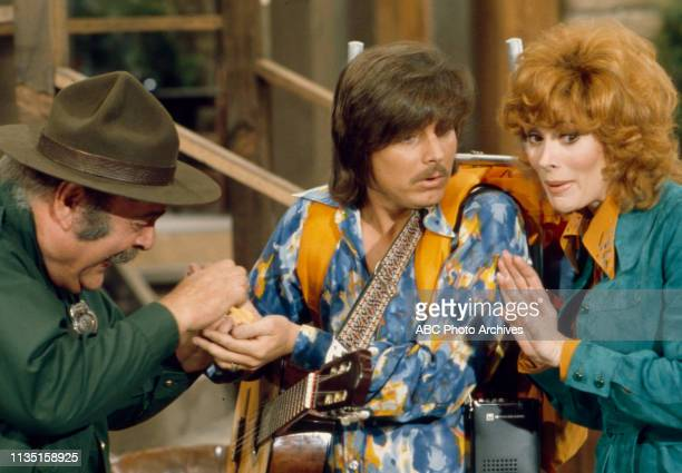 Zero Mostel Bobby Sherman Jill St John appearing in the Walt Disney Television via Getty Images tv special 'Old Faithful' dedicated to Old Faithful