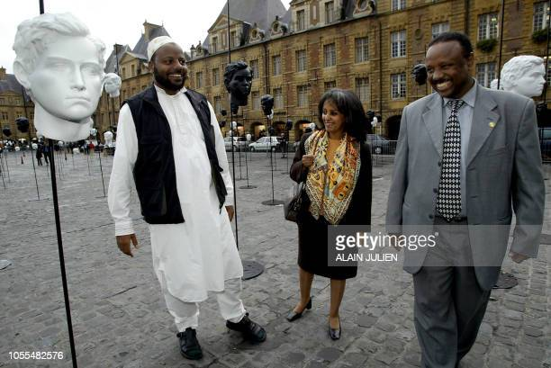 ' CHARLEVILLE CELEBRE LE 150E ANNIVERSAIRE DE RIMBAUD EN S'UNISSANT A HARAR' Zeydan Bekri mayor of Ethiopian city of Harar where lived French 19th...