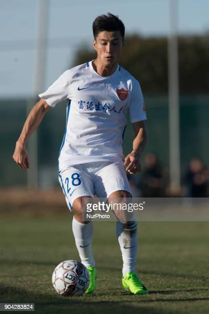 Zhang Hongkui during the friendly match between Royal Charleroi SC vsYanbian Funde FC at Pinatar Arena Murcia SPAIN 10th January of 2018