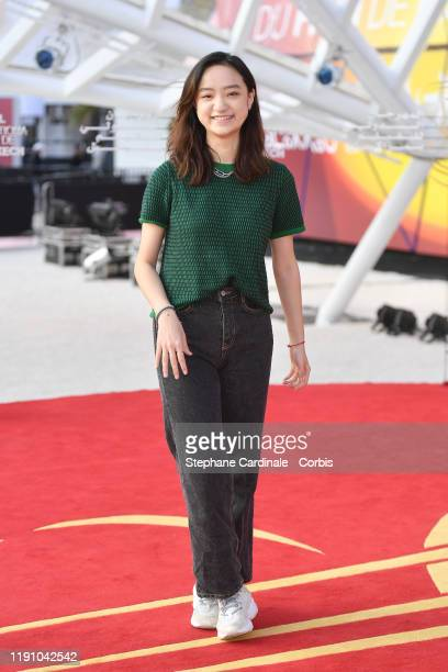 """Zhang Tongxi attends the photocall of the movie """"Mosaic Portrait"""" during the 18th Marrakech International Film Festival - Day Two - on November 30,..."""