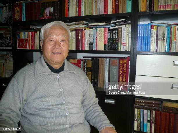 Zhang Tongxin director of the Centre for Taiwan Hong Kong and Macau Studies Renmin University of China Pictured at his home in Beijing 25 December...