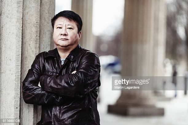 Zhang Wei is photographed for Self Assignment on February 16 2016 in Berlin Germany