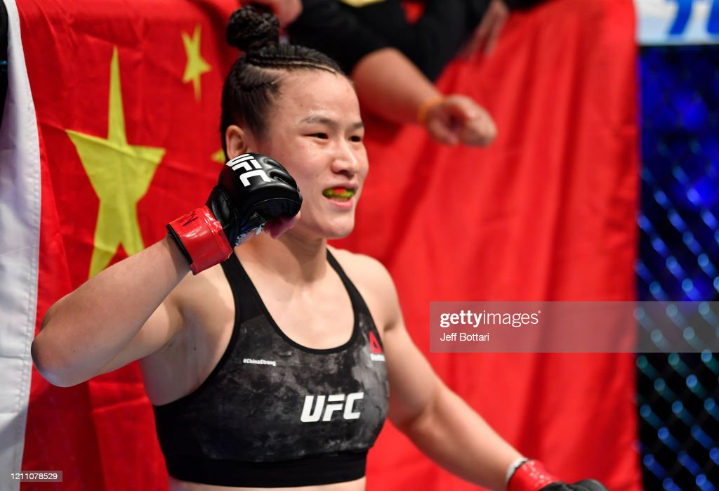 UFC 248: Zhang v Jedrzejczyk : News Photo