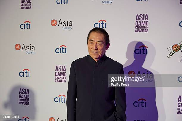 Zhang Yimou awardee during the Asia Game Changers 2016 Awards held at the United Nations Headquarters