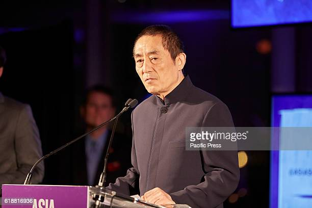 Zhang Yimou awardee2016 Asia Game Changers for changing the landscape of film in China Director of 'To Live' 'Hero' and soon to be released 'Great...