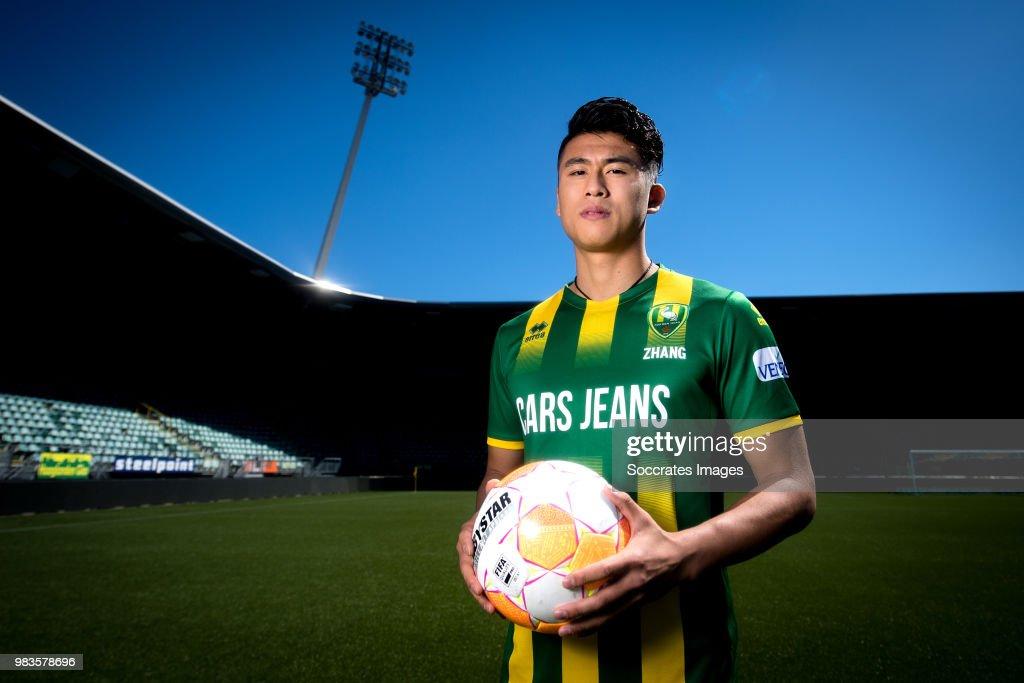 ADO Den Haag unveil new signing Yuning Zhang