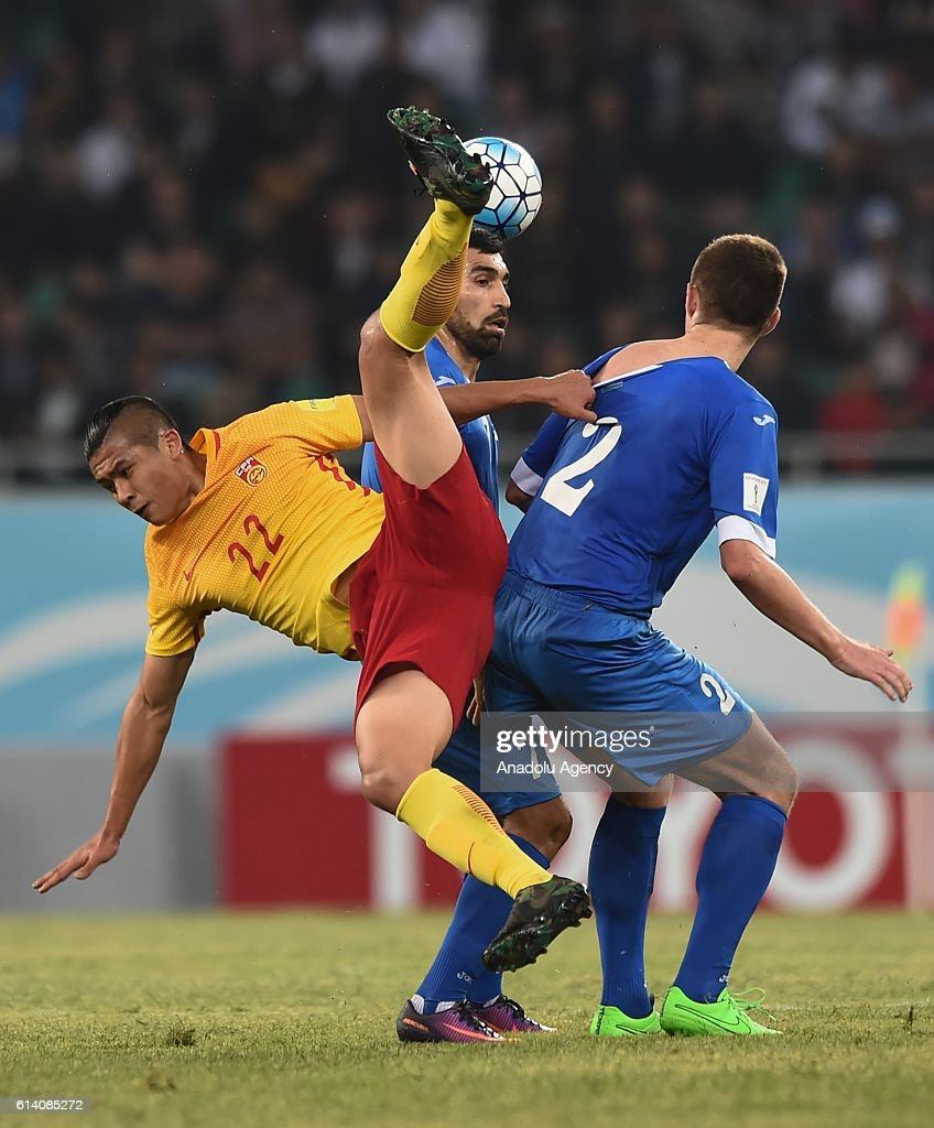 Download China World Cup 2018 - zhang-yuning-of-china-in-action-during-the-2018-fifa-world-cup-match-picture-id614085272  2018_989013 .com/photos/zhang-yuning-of-china-in-action-during-the-2018-fifa-world-cup-match-picture-id614085272