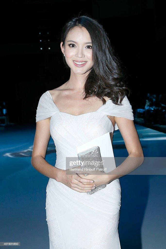Lan YU   : Front Row - Paris Fashion Week : Haute Couture Fall/Winter 2014-2015