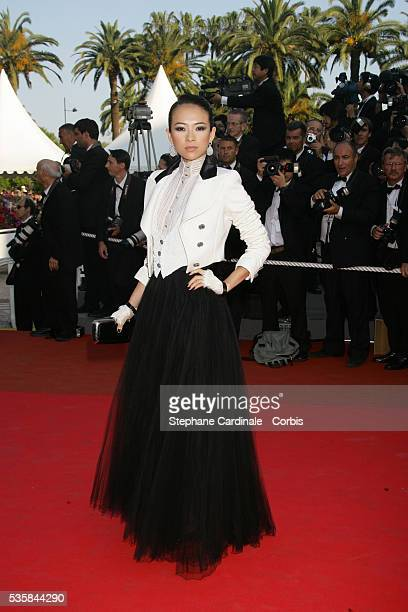 Zhang Ziyi arrives at the premiere of 'Chacun Son Cinema' during the 60th Cannes Film Festival