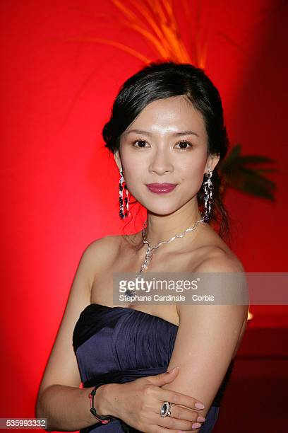 Zhang Ziyi at the closing ceremony dinner of the 59th Cannes Film Festival