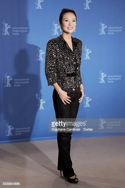 Zhang Ziyi at the photo call of Forever Enthralled at the 59th Berlin Film Festival