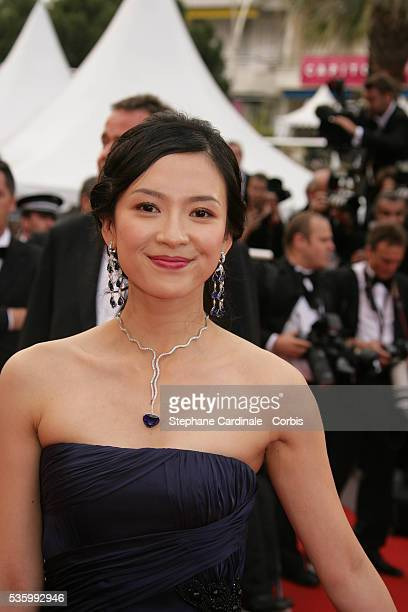 Zhang Ziyi at the premiere of 'Transylvania' during the 59th Cannes Film Festival