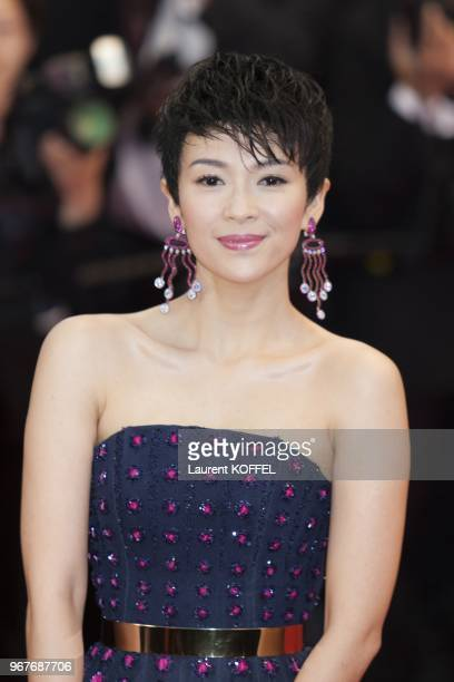 Zhang Ziyi attends Electrolux at Opening Night of The 66th Annual Cannes Film Festival at the Theatre Lumiere on May 15 2013 in Cannes France