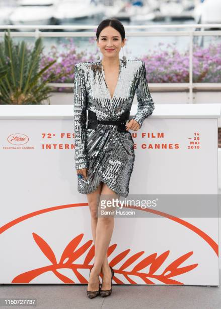 """Zhang Ziyi attends the photocall for """"Rendez Vous With Zhang Ziyi"""" during the 72nd annual Cannes Film Festival on May 21, 2019 in Cannes, France."""