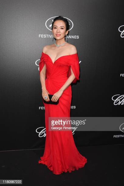 Zhang Ziyi attends the The Chopard Trophy event during the 72nd annual Cannes Film Festival on May 20 2019 in Cannes France