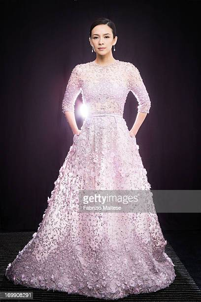 Zhang Ziyi is photographed for Self Assignment on May 20 2013 in Cannes France