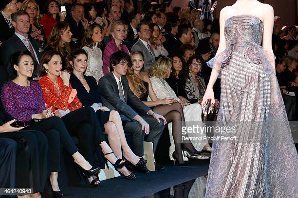 Zhang Ziyi Kristin Scott Thomas Chiara Mastroianni AlainFabien Delon Beatrice Borromeo Marta Marzotto Afef Jnifen and Claudia Cardinale on the front...